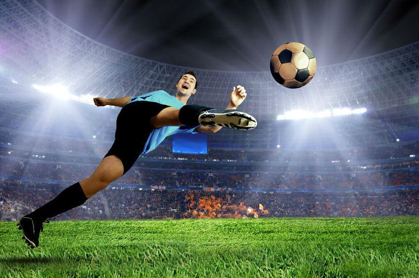 football playing
